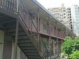 ヒラノハイツA棟の外観写真