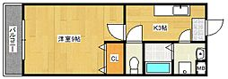 コンフォールIII[2階]の間取り