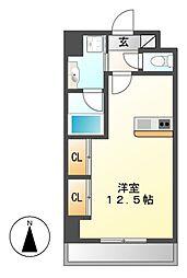 diciottoCHIKUSA(ディチョットチクサ)[2階]の間取り
