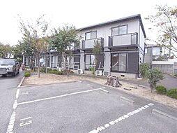 兵庫県明石市魚住町清水寺山の賃貸マンションの外観