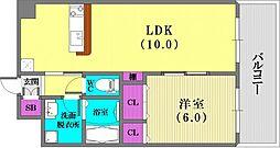 インボイス新神戸レジデンス[3階]の間取り