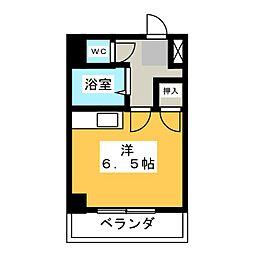 ハイム田中[2階]の間取り