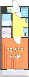 Fille Flats SHINSAYAMA(フィユフラッツ 3階1Kの間取り