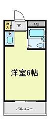 プレアール昭和町[2階]の間取り