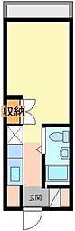 カーネ西早稲田[3階]の間取り