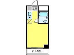 キャッスルマンション橋本[3階]の間取り
