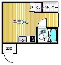 ショウ栄マンション福島[5階]の間取り