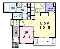 kotobuki[1階]の間取り