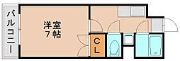 パークコート箱崎2[2階]の間取り