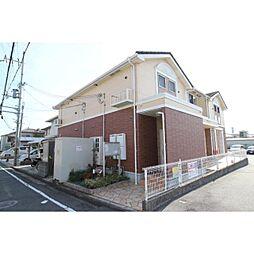 奈良県生駒郡斑鳩町阿波の賃貸アパートの外観