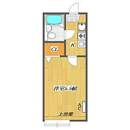 Sunny Court 〜Kitakasai〜[B209号室]の間取り