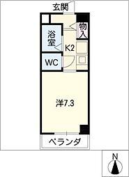 ベルドール[4階]の間取り