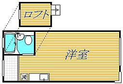 アヴェニュー成城[1階]の間取り