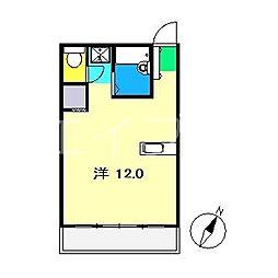 フィール高須[2階]の間取り
