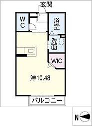 AC岡崎I[2階]の間取り
