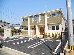 福岡県小郡市横隈の賃貸アパートの外観