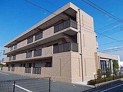 群馬県高崎市下佐野町の賃貸マンションの外観