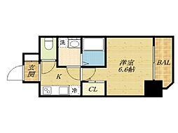 エスプレイス大阪城SOUTH[11階]の間取り