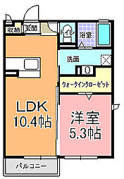 シャンテクレール I[2階]の間取り