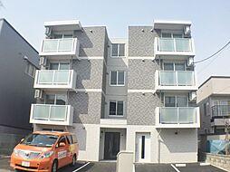 北海道札幌市豊平区月寒東五条8丁目の賃貸マンションの外観