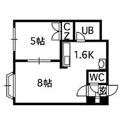 【敷金礼金0円!】リーガルコート南5条