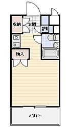 TOP田端第一[401号室]の間取り
