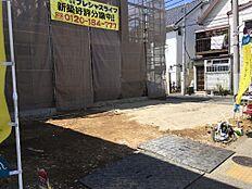 現況現地・現地よりJR総武線「小岩駅」まで徒歩13分、総武線利用「小岩駅」から「秋葉原駅」まで直通18分、「小岩駅」から「新宿駅」まで直通37分都心へのアクセスが良好です。