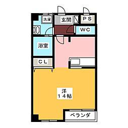 K's・BLD[2階]の間取り