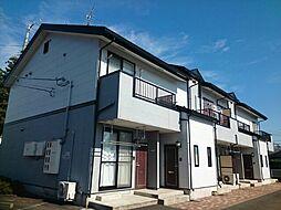 岩手県紫波郡矢巾町大字藤沢第7地割の賃貸アパートの外観