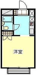 メゾン浦和[3階]の間取り