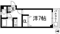 中央日進ビル[4階]の間取り