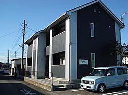 埼玉県深谷市上柴町東1丁目の賃貸アパートの外観