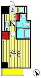 千葉県松戸市日暮2丁目の賃貸マンションの間取り