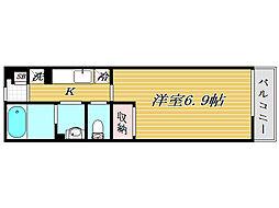 リブリ・OGW蕨II[2階]の間取り