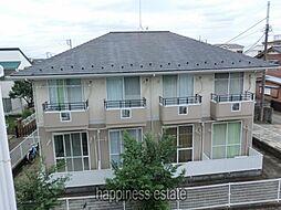 東京都町田市原町田2丁目の賃貸アパートの外観