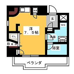 SK'BUILDING−5[3階]の間取り