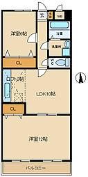 ソシアル武庫之荘[6階]の間取り