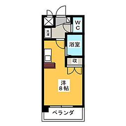 グランデュール56[6階]の間取り