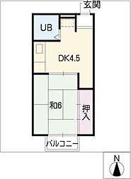 サクセスDO[2階]の間取り