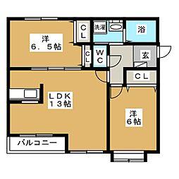 北海道札幌市中央区北七条西11丁目の賃貸マンションの間取り