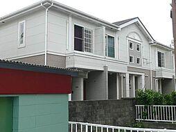 和歌山県橋本市小原田の賃貸アパートの外観