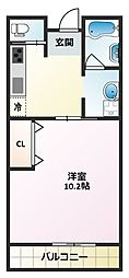 三笠マンション[2階]の間取り