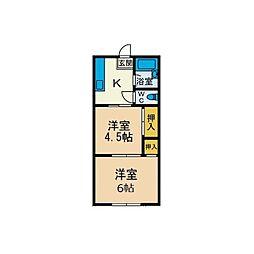 本厚木Solamachi IIDA5[1階]の間取り