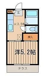 フューチャーコーポサエキ[103号室]の間取り
