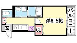 CoLaBo神戸駅前[3階]の間取り