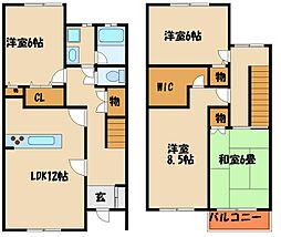 [テラスハウス] 兵庫県神戸市西区王塚台5丁目 の賃貸【/】の間取り