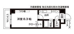 梅田エクセルハイツ[305号室号室]の間取り