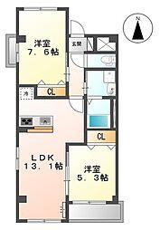 三反田町新築マンション(仮[3階]の間取り