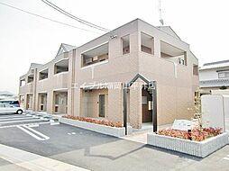 岡山県岡山市中区高屋丁目なしの賃貸アパートの外観