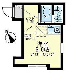 ソニオ ユナイト[1階]の間取り
